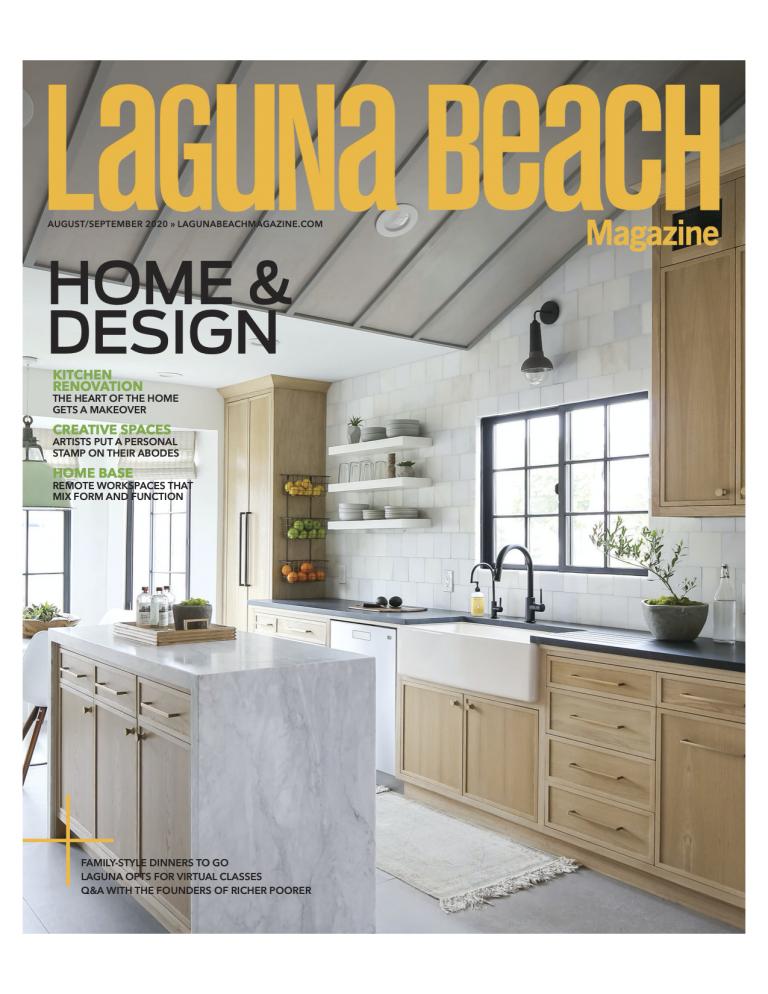 Featured in Laguna Beach Magazine August 2020
