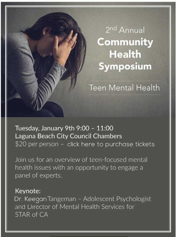 LBCC 2nd Annual Symposium – Teen Mental Health